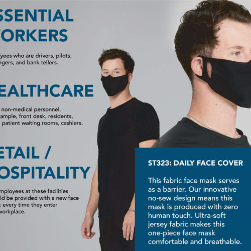 Bella Canvas Mask Info
